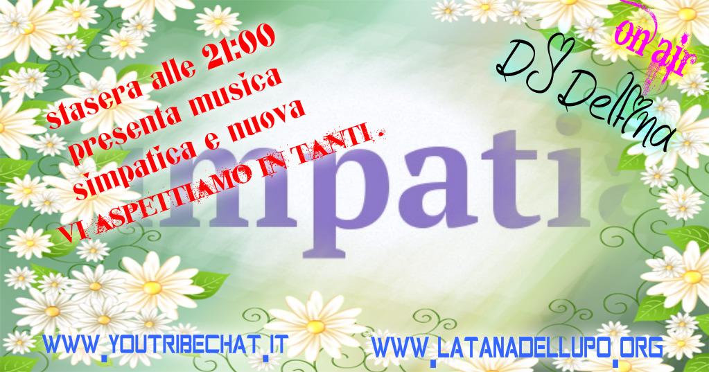Photo of Stasera alle 21:00 la DJ Delfina presenta la musica bella simpatica e nuova .