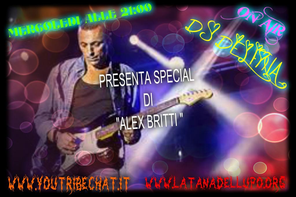 Photo of MERCOLEDI ALLE 21;00 LA DJ DELFINA PRESENTA NELLA DIRETTA – SPECIAL DI ALEX BRITTI